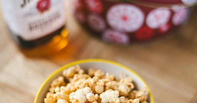 Bourbon Caramel Corn - Recipe