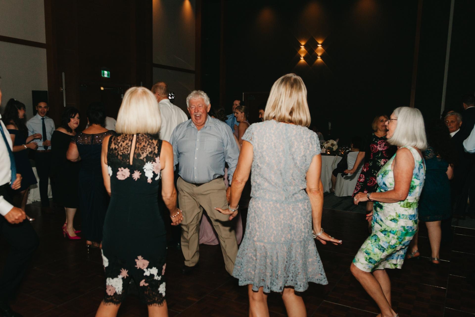dancing to celebrate at the brookstreet hotel kanata