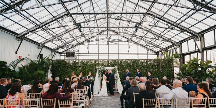 Romantic greenhouse wedding sneak peek - Jessica & Shawn