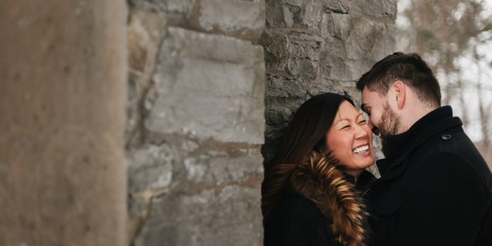 Lynda & Michael - Winter Wonderland Engagement Session