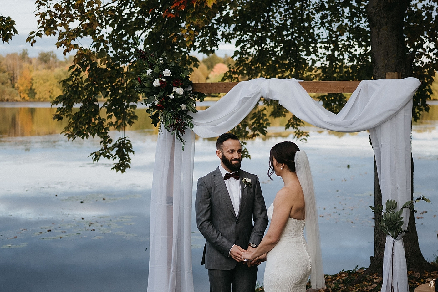 Ceremony - Ottawa and Ontario Elopement Photography